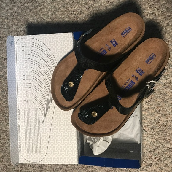 the latest f17b5 d0b72 Birkenstock Gizeh soft footbed 38 Boutique